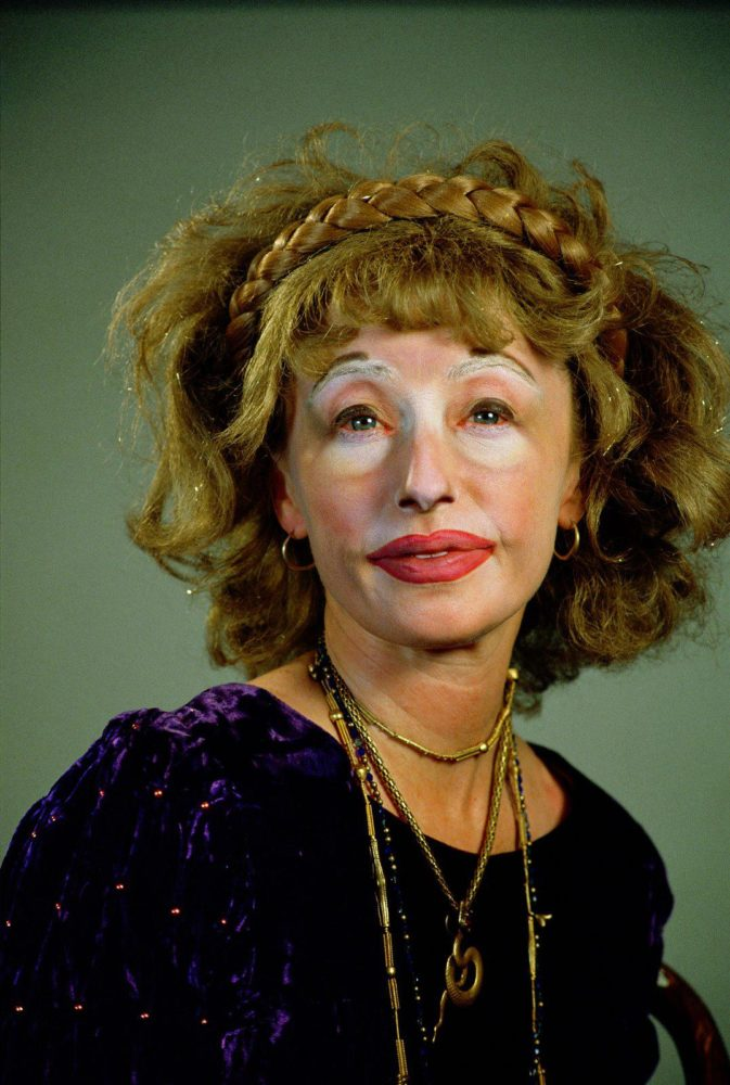 Cindy sherman poses in costume in one of her famous self portraits photo courtesy of blog danportingstudios com